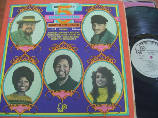 5 th DIMENSION - GREATEST HITS - BELL RECORDS 1972